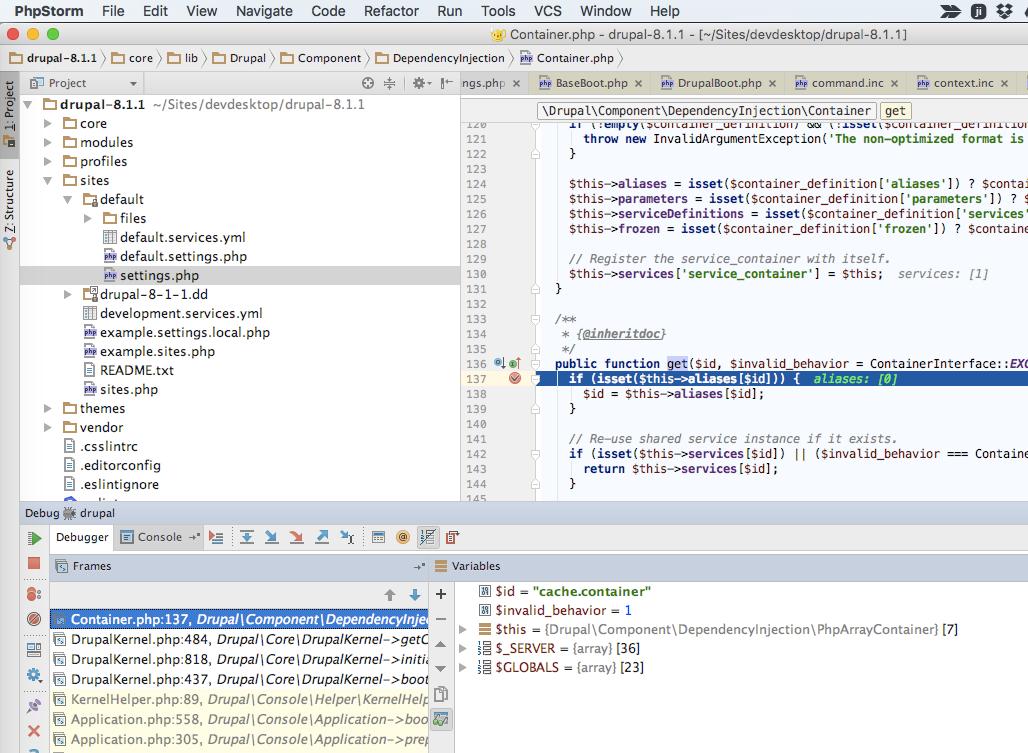 Debugging Drupal 8 in PhpStorm: Local CLI Debugging in Mac