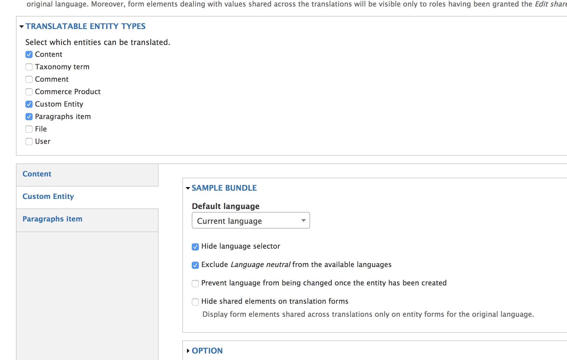 Extending Drupal Translations for Custom Entity in Drupal 7